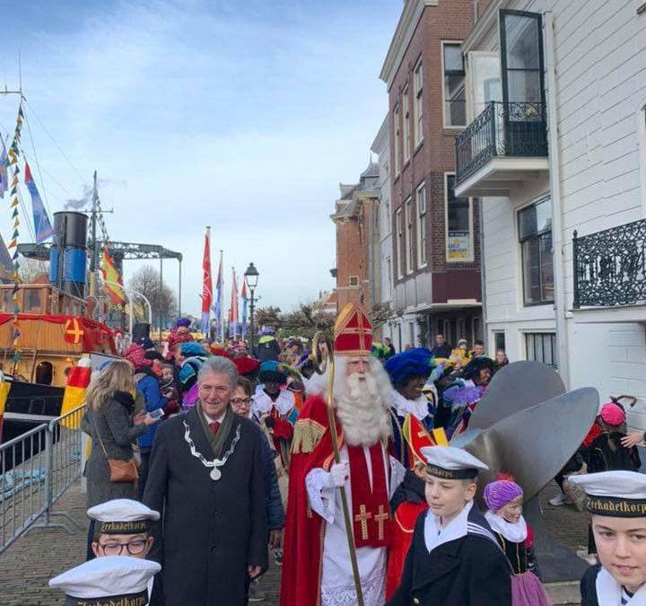 Zaterdag 16 november, intocht van Sinterklaas.